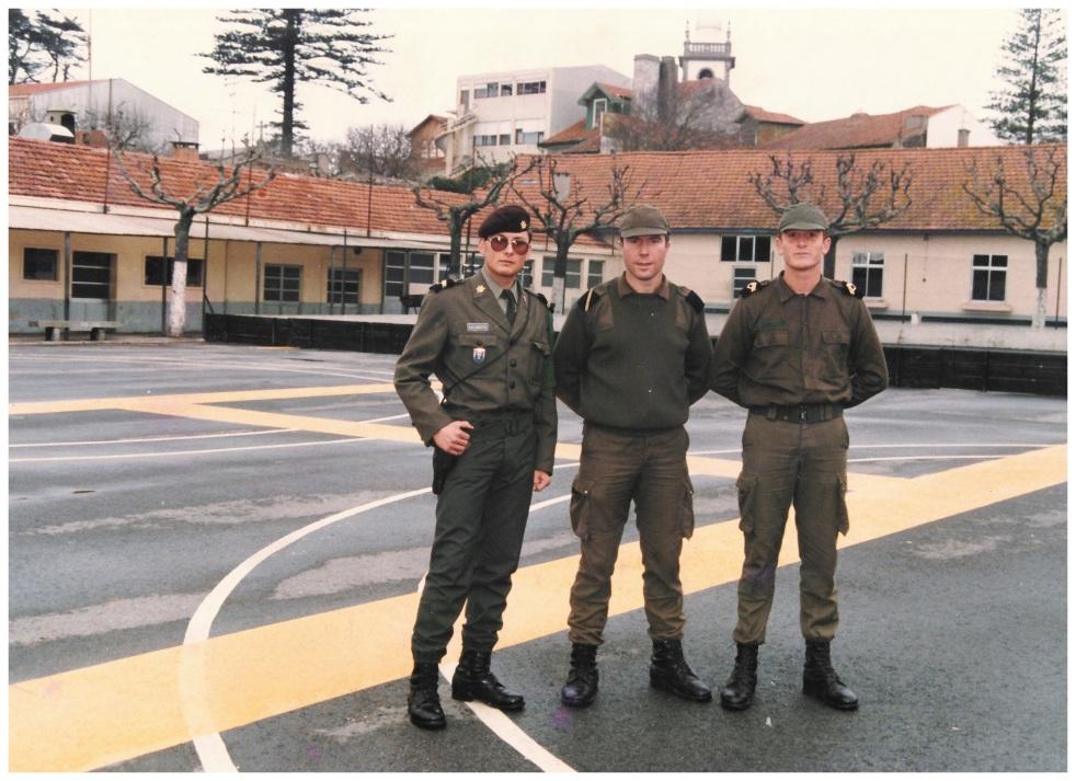Serviço Militar Obrigatório - Póvoa de Varzim Abril 1987